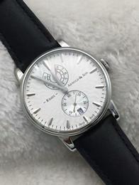 Descuento esfera blanca para hombre de los relojes automáticos 2016 brandswatch9u sugieren nueva esfera blanca modelo Mens machanical de cuerda manual Reloj automático