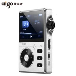 Wholesale Original Aigo mp3 High quality lossless hifi music player with screen portable G support APE FLAC WMA WAV OGG ACC MP3