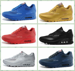Wholesale High Quality Air Hyperfuse USA MAX Flag Breathable Men s Max Sports Running Shoes Team Royal Shop Running Shoes