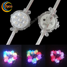 50mm Led Point Lights led string light Led Pixel Light Party light Christmas lights Transparent Waterproof For Outdoor Use Free Shipping
