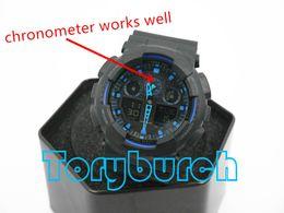 Wholesale 2016 top quality relogio G box men s sports watches Luxury brand men watch LED chronograph wristwatch military watch digital watch
