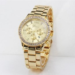 Watches automatic Quartz stainless steel Watch Luxury diamond Calendar Wristwatch with for men women Rose Gold Color