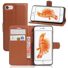 For iphone 7 case leather For iphone 6S 6plus Color Painting Cases With Credit Card Slots Punch Stand Holder Painted Case leather