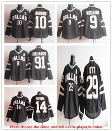 Wholesale Dallas Stars Ice Hockey Jersey Jamie Benn Tyler Seguin Patrick Sharp Jason Spezza Mike Modano Horcoff Broten Parise NHL Stitched jersey