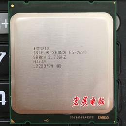 Wholesale Para Intel Xeon E5 Processador de GHz M Cache GT s LGA SROKH C2 E5 CPU normal de trabalho