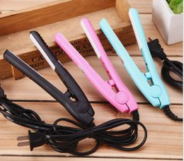 Lisseur d'onde en Ligne-Nouveau électrique chaud 2 en 1 enduit de céramique de bouleuse de cheveux US Fermeture en céramique de cheveux de boucle de cerclage