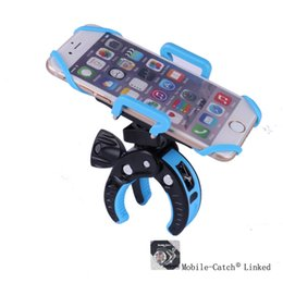 Wholesale High Quality Outdoor Sports Bicycle Mount Cell Phone Holder Secure Stands for Bike Motorcycle Baby Carriage