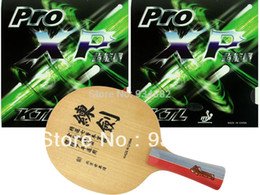 Wholesale Pro Table Tennis Ping Pong Combo Paddle Racket Sword Wooden for Training KTL Pro XP