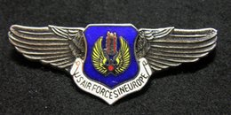 Wholesale The United States Air Force Memorial wing badge air force in Europe command
