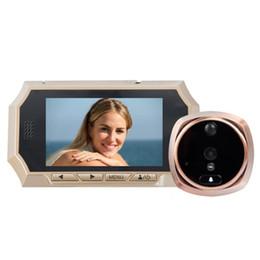 4.3inch door peephole camera eye IR Night vision PIR Motion Sensor door camera video eye Photos Taking Video Recording Max 32GB