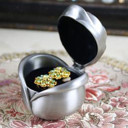 Gothic Rose Jewelry Boxes Matel Treasure Chest Mini Jewelry Case Romantic Ring Box Treasure Box Fancy Present DHL FREE