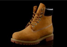 Wholesale Authentic Brand New Unisex Classic Fashion Timber Boots Womens Mens Inch Premium Boots Timber Lovers Waterproof Wheat Nubuck Boots