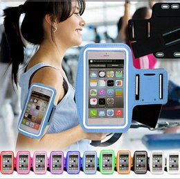 Wholesale For Iphone6 s6 Waterproof Sports Running Case Armband Running bag Workout Armband Holder Pounch For iphone Cell Mobile Phone Arm Bag Band