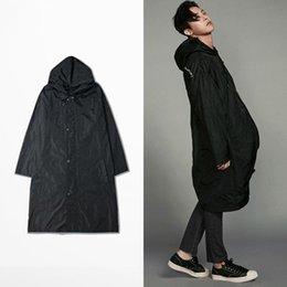 Wholesale One Size GD Extended Long Jacket too fast to live too young to die Hoodie Windbreaker Thin Coats Raincoats