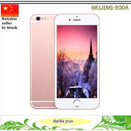 Wholesale New Goophone i6S Plus Phone s Star MTK6573 Octa Core GB GB GB Andorid real G Smart Phone with fingerprint