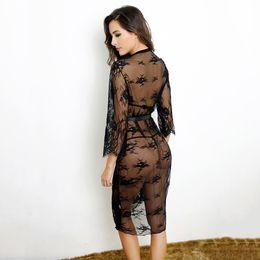 Wholesale Brand New Women Sexy Lingerie Nightwear Underwear Babydoll Sleepwear Lace Dress G string ASB0002