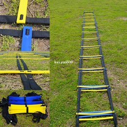 MESSON 22.5 FOOT Quick Flat Rung Agility Ladder Soccer Speed Training ladder