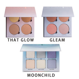 Wholesale NEW Top Quality Anasta sia Hills Brand GLOW KIT Palette Face Powder Contour Beverly Hills Make Up Kit Golden Silver MOON CHILD