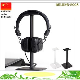 Wholesale Universal Headphone Stands Display Headset Hanger Earphone Holder Headphone Stands Headphone Display Rack free DHL