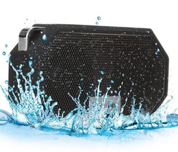 Wholesale IP65 Waterproof Bluetooth CSR4 Pocket Speakers Eagle Eye W Amplifier Power With Enhanced Bass Built in Microphone For iphone Samsung HTC