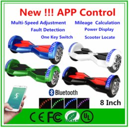New 8 inch Smart Balance Wheel Scooter With Bluetooth Speaker and Remote Electric Self Balancing Scooter APP Control Scooter Hoverboard