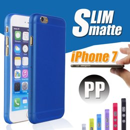 Wholesale 0 mm Ultra Thin Slim Matte Frosted Transparent Clear Soft PP Cover Case Skin for iPhone S Plus SE S S Galaxy S7 edge S6