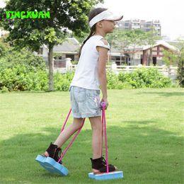 Stilt Walking Exercises Body Balance Training Equipment Preschool Kindergarten Toys Kids Outdoor Fun Sports