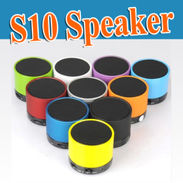 New S10 Bluetooth Speakers Mini Wireless Portable Speaker HI-FI Music Player Stereo Subwoofers Home Audio Support TF Card FM Mp3 Player