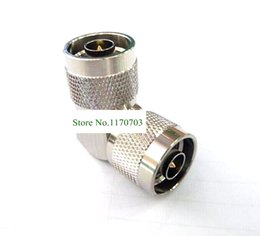 30 pcs Type N Male to N Male Right Angle Coaxial RF Adapter