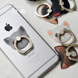 Wholesale Korea Wholesalers Phones - Best Sellers New Product No Heart Meow Series Mobile Phone Bracket Korea Lovely Originality Dawdler Ring Buckle Gift Universal
