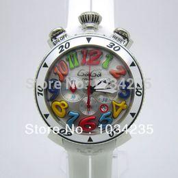 Wholesale Gaga Milano wristwatch best seller large dial fashion six hans quartz watch gaga watch