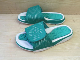 Hydro 5 Mens Slippers Retro Slippers Green White Black fashion summer shoes sandals new arrival Cheap 5s shoes for Men US7-11