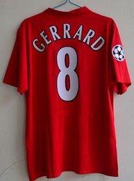 Retro jersey 0506 Final game Gerrard jersey 2005