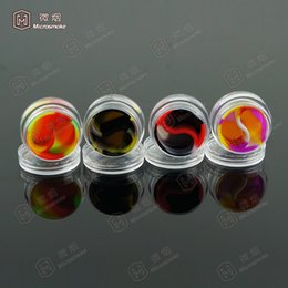 5ml Silicone Container For Wax oil,Plastic Container Silicone Jars Or Wax Oil Extract Bho acrylic containers