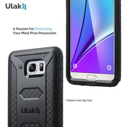Wholesale For Samsung Galaxy Note case ULAK KNOX ARMOR Dual Layer Heavy Duty Full body Rugged Case Belt Clip Holster for Note case