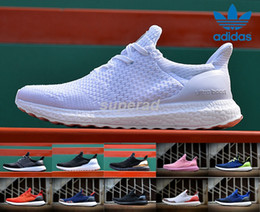 Wholesale New Hypebeast Adidas Ultra Boost Uncaged Black White Men Women Running Shoes Fashion tripple white Ultra Yzy Boost Casual Shoes