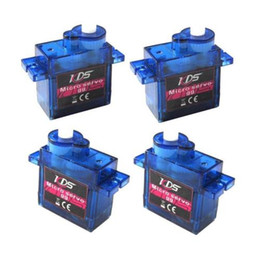 Promotion kds hélicoptère 4x KDS Analog 9g Micro Servo High Speed Torque pour RC Helicopter Airplane Robot