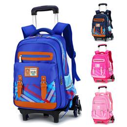 Filles valise à roulettes en Ligne-Hot Sale Imperméable Durable 2/6 roues Trolley école Sacs Dessinez-Bar Box Valise Sac à dos pour enfants adolescents Garçons Filles Mochila