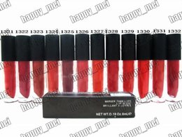 Wholesale Factory Direct DHL New Makeup Lips Na R Marger Than Life Lip Gloss ml