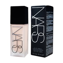 Wholesale Makeup Face And Body Foundation NARS New Makeup All Day Luminous Weightless Foundation Liquid ml Small package