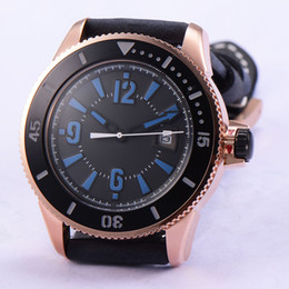 1770 Bliger 43mm Date Rose Gold Steel Case Automatic Movement Men's Watch