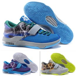 Wholesale New Kd VII Carnival Cheap Mens Basketball Shoes Wear July th kds Sneakers kd7 Calm Before the Storm Size
