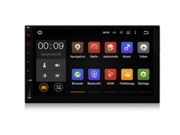 Wholesale 7 Quad Core Android Car DVD GPS For Universal With Stereo Radio Map Wifi BT Navigation Camera