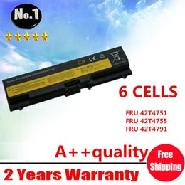Wholesale New cells laptop battery FOR Lenovo T410 T420 ThinkPad E40 E50 T4733 T4235 T4731 T4733