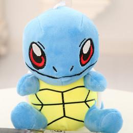 Wholesale 18cm Beautiful Blue Kawaii Small Tortoise Plush Toys Stuffed Plush Turtle Cloth Doll PP Cotton Kids Toys