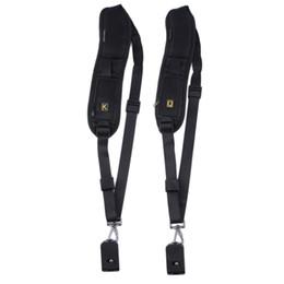 Wholesale New Black Anti Slip Camera Single Shoulder Sling Belt Strap for Digital Cameras with K