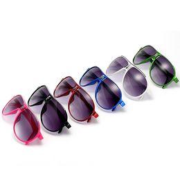 Wholesale Kids Sunglasses Baby Boys Girls Fashion Brand Designer Sunglasses Kids Children Sun Glasses Beach Toys UV400 Sunglasses Sun Glasses
