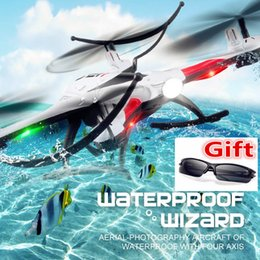 Wholesale New Drone JJRC Waterproof Resistance Headless Mode One Key Return G CH Axis RC Quadcopter Helicopter RTF Some Combos