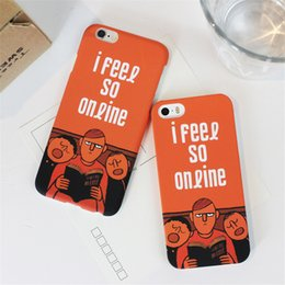 Funny Cartoon Cell Phone Cases I Fell So Online Phone Covers for iphone 6s 5S 6Plus 95