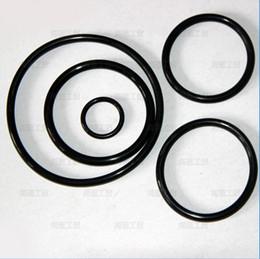 Black O-Ring Seals NBR70A ID170.82,177.17,183.52,189.87,196.22,202.57,208.92,215.27,221.62,227.97mm*C S5.33mm AS568 Standard 50PCS Lot
